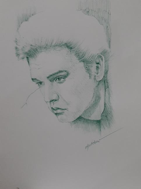 Elvis Presley por Bobchew